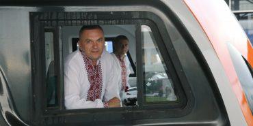 На День Незалежності Укрзалізниця запустила другий потяг Київ-Перемишль. ФОТО