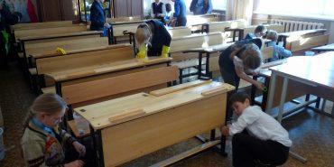 Змушувати учнів прибирати у класах – незаконно, нагадали у Мін'юсті