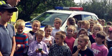 На Коломийщині провели заходи з недопущення дитячого травматизму на дорогах. ФОТО