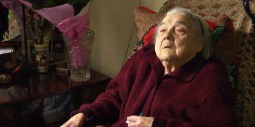 Найстарша мешканка Коломиї відзначила 100-літній ювілей. ВІДЕО
