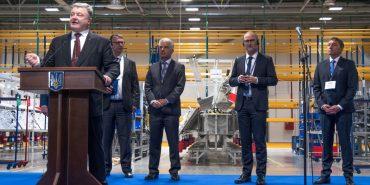 """""""У Коломиї випускатимуть кабельні мережі для Audi, Porsche, Lamborghini"""", – Порошенко на відкритті LEONI"""