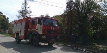 У Коломиї пожежа, постраждав чоловік. ФОТО