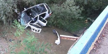 Подробиці смертельної аварії під Коломиєю, в якій авто злетіло з мосту в річку. ФОТО