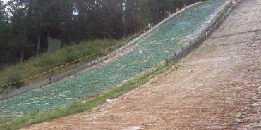 Збірна Прикарпаття перемогла на чемпіонаті України зі стрибків на лижах з трампліна
