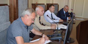 Комісія з Києва перевіряла готовність служб Коломийщини на випадок надзвичайної ситуації. ФОТО