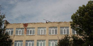 На Франківщині за два тижні обіцяють відновити зірваний негодою дах школи
