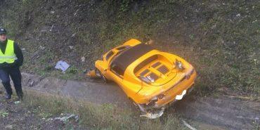 Спортивний автомобіль з Франківщини потрапив у ДТП на Закарпатті. ФОТО