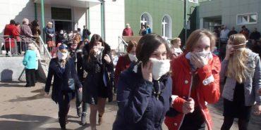 У Франківську через викид газу на лісокомбінаті з сусідніх шкіл евакуювали дітей