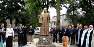 У Косові відкрили пам'ятник видатному релігійному діячеві Володимиру Романюку. ФОТО