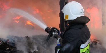 У Коломиї на території кафе сталася пожежа