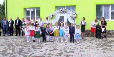 На Коломийщині відкрили ще один дитячий садок. ВІДЕО