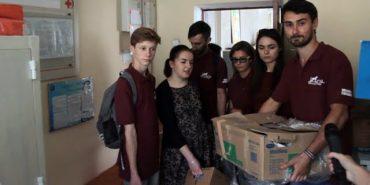 Konyk Help привіз геріатричному будинку допомогу від німців. ВІДЕО
