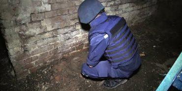 Інформація про знайдену міну у середмісті Коломиї не підтвердилася. ВІДЕО