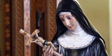 Коломия отримала від Італії метрову статую св. Рити. ВІДЕО