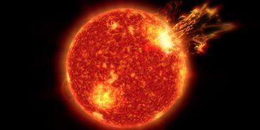 Потужний спалах на сонці може викликати погіршення самопочуття. ВІДЕО