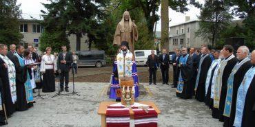 На Франківщині урочисто відкрили пам'ятник Патріарху Володимиру. ФОТО