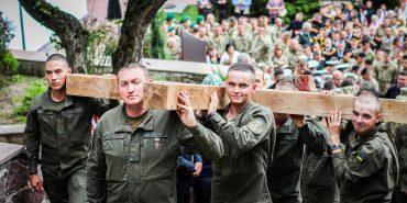 Українські військові здійснили паломництво до Зарваниці. ФОТО
