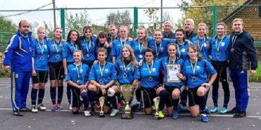 Команда дівчат з Прикарпаття здобула перемогу на чемпіонаті України з футболу