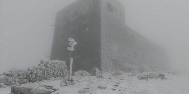 У Карпатах випав перший сніг. ФОТО