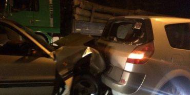 На Прикарпатті затримали водія, який п'яним вчинив дві ДТП і втік