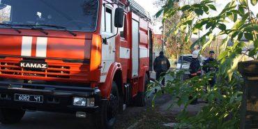 У Коломиї в пожежі постраждав чоловік. ФОТО