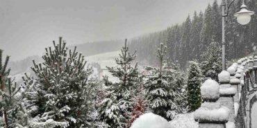 У Карпати прийшла справжня зима. ФОТО+ВІДЕО