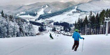 У Карпатах розпочався лижний сезон. ФОТО