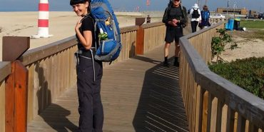 Прикарпатка подолала 280 кілометрів пішки за 11 днів. ВІДЕО
