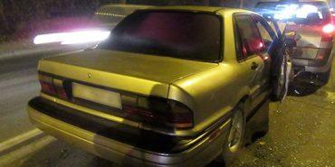 На Франківщині п'яний водій вчинив дві ДТП і втік. ФОТО