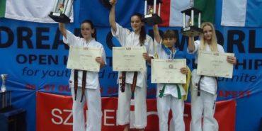 Прикарпатська спортсменка здобула третє місце на Кубку світу з карате. ФОТО