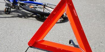 У ДТП в Коломиї велосипедист отримав перелом черепа