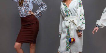 Юлія Курліщук з Коломиї презентувала у Парижі колекцію вишитого одягу. ФОТО