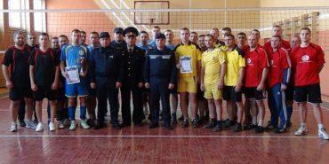 Коломийські рятувальники стали найкращими волейболістами області. ФОТО