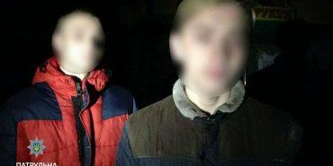 На Прикарпатті затримали юнаків, які обкрадали автомобілі. ФОТО