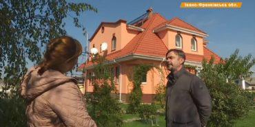 Прикарпатець заробляє 1,5 тис. євро завдяки сонячній батареї, встановленій на паркані. ВІДЕО