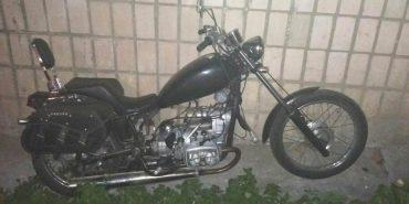 Поліція знайшла мотоцикл, який вчора вкрали на Прикарпатті. ФОТО