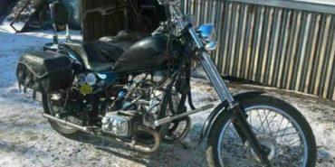 На Прикарпатті розшукують викрадений мотоцикл. ФОТО