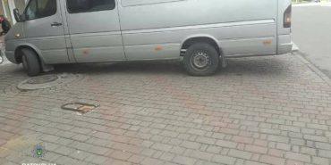 На Франківщині водій пропонував патрульним хабар. ФОТО