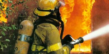 На Прикарпатті згоріла шкільна їдальня