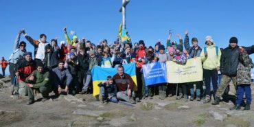 Юні туристи Коломиї здійснили масове сходження на Говерлу. ВІДЕО