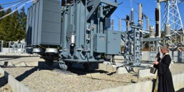 На Прикарпатті відкрили нову електростанцію. ФОТО