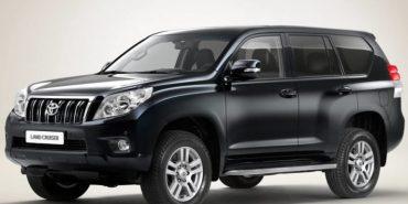 На Прикарпатті викрали Toyota Land Cruiser