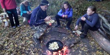 Школярі Коломийщини взяли участь у триденному вишколі на Воскресінецькій горі. ВІДЕО