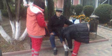 На Прикарпатті безпритульний собака покусав чоловіка. ФОТО