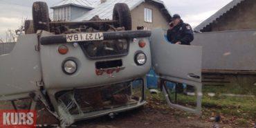 Стали відомі деталі ДТП на Прикарпатті, в якій перекинулась автівка швидкої допомоги з пацієнтами. ФОТО