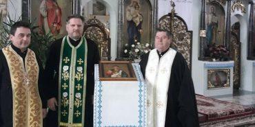 На Коломийщину прибула ікона великомученика Димитрія Солунського. ФОТОФАКТ