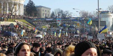 Коломияни на Євромайдані. Як це було. ФОТОРЕПОРТАЖ