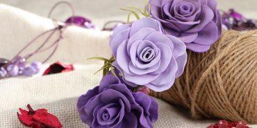 Прикарпатка створює прикраси і квіти завдяки дивовижному матеріалу. ФОТО