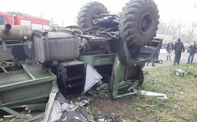 УЗапоріжжі перекинувся КрАЗ, загинув військовий