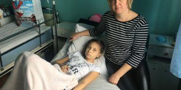 10-річній прикарпатці, яка бореться зі страшною недугою, потрібна допомога. РЕКВІЗИТИ